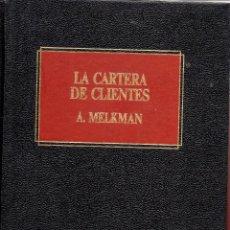 Libros de segunda mano: . LIBRO BIBLIOTECA EMPRESARIAL DEUSTO VENTAS LA CARTERA DE CLIENTES A. MELKMAN. Lote 49755746