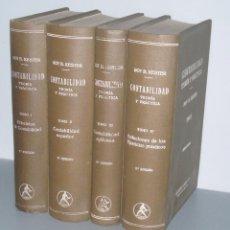 Libros de segunda mano: CONTABILIDAD: TEORIA Y PRACTICA- EDITORIAL LABOR 2ª EDICIÓN 1946 -ROY B. KESTER. Lote 50023627