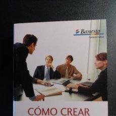Libros de segunda mano: COMO CREAR E IMPULSAR SU PYME. BANESTO. TELEFÓNICA. PRICEWATERHOUSECOOPERS. Lote 50325345