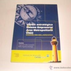 Libros de segunda mano: VISIÓN ESTRATÉGICA DEL SISTEMA EMPRESARIAL DEL ÁREA METROPOLITANA DE VIGO. RM70645. . Lote 50717385