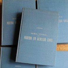 Libros de segunda mano: TEORÍA GENERAL DE LA PRUEBA EN DERECHO CIVIL O EXPOSICIÓN COMPARADA DE LOS PRINCIPIOS DE LA PRUEBA... Lote 51358267