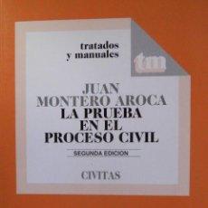 Libros de segunda mano: LA PRUEBA EN EL PROCESO CIVIL. Lote 51506974