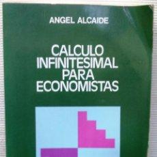 Libros de segunda mano: CÁLCULO INFINITESIMAL PARA ECONOMISTAS. ÁNGEL ALCAIDE. (BIBLIOTECA DE CIENCIAS SOCIALES-AGUILAR 1980. Lote 51535990