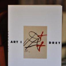 Libros de segunda mano: ART I DRET. Lote 51583398