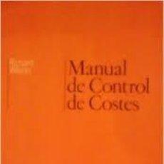 Libros de segunda mano: MANUAL DE CONTROL DE COSTES (RICHARD WILSON). Lote 51883113