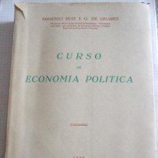 Libros de segunda mano: CURSO DE ECONOMIA POLITICA - ERNESTO RUIZ Y G. DE LINARES - 1959 - 548 PAGINAS - PROGRAMA DE ESTUDIO. Lote 52019421