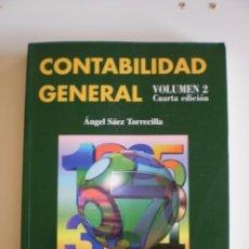 Libros de segunda mano: CONTABILIDAD GENERAL VOLUMEN II. Lote 52450363