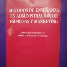 Libros de segunda mano: METODOS DE ENSEÑANZA EN ADMINISTRACION DE EMPRESAS Y MARKETING KRONOS 1994. Lote 52770247