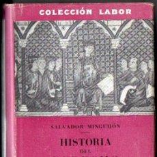 Libros de segunda mano: MINGUIJÓN : HISTORIA DEL DERECHO ESPAÑOL (LABOR, 1953). Lote 52952186
