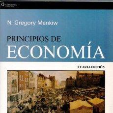 Libros de segunda mano: PRINCIPIOS DE ECONOMÍA, N. GREGORY MANKIW. Lote 53066862