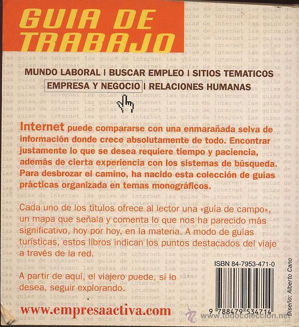 Libros de segunda mano: ¡LAS MEJORES WEBS SOBRE... GUIA DE TRABAJO! -- (Ref-SaMiIzEs2) - Foto 2 - 53270530