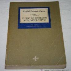Libros de segunda mano: CURSO DE DERECHO ADMINISTRATIVO II, RAFAEL ENTRENA CUESTA, TECNOS 1984. Lote 53291275