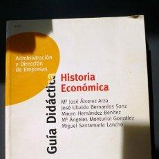 Libros de segunda mano - Historia Economica-Guia Didáctica-Administracion de empresas UNED - 53642389
