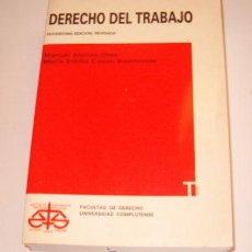 Libros de segunda mano: MANUEL ALONSO OLEA, MARÍA EMILIA CASAS BAAMONDE. DERECHO DEL TRABAJO. RM72735. . Lote 53728400