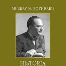 Libros de segunda mano: HISTORIA DEL PENSAMIENTO ECONOMICO MURRAY ROTHBARD 2013 UNION EDITORIAL TAPA DURA. Lote 54472035