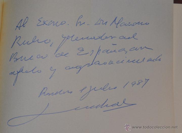 Libros de segunda mano: ESCRITOS (1948-1980) JUAN SARDA DEXEUS. BANCO DE ESPAÑA - dedicatoria autor a MARIANO RUBIO - Foto 5 - 54594373