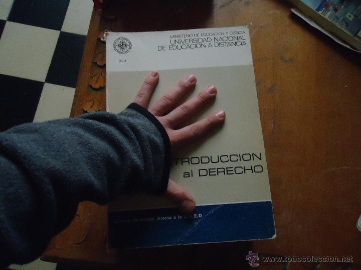 Libros de segunda mano: INTRODUCCION AL DERECHO - CURSO ACCESO DIRECTO A LA UNED - UNIDAD DIDACTICA 1 Y 4 - LEER - Foto 2 - 54828901