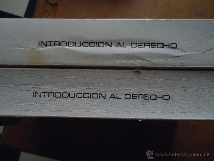 Libros de segunda mano: INTRODUCCION AL DERECHO - CURSO ACCESO DIRECTO A LA UNED - UNIDAD DIDACTICA 1 Y 4 - LEER - Foto 3 - 54828901