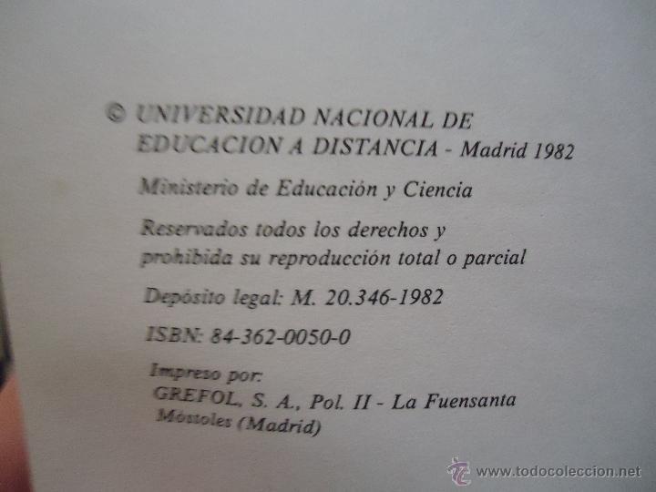 Libros de segunda mano: INTRODUCCION AL DERECHO - CURSO ACCESO DIRECTO A LA UNED - UNIDAD DIDACTICA 1 Y 4 - LEER - Foto 5 - 54828901