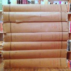 Libros de segunda mano: ESTUDIOS SOBRE LA UNIDAD ECONÓMICA DE EUROPA. VII TOMOS - VVAA. Lote 55165436