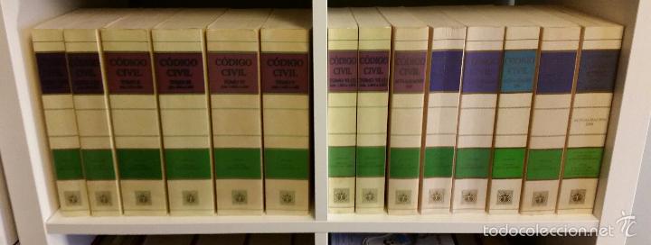 CÓDIGO CIVIL. 14 TOMOS. DOCTRINA Y JURISPRUDENCIA. ALBÁCAR LÓPEZ, J.L. 8 VOLÚMENES + 6 ACTUALIZ. (Libros de Segunda Mano - Ciencias, Manuales y Oficios - Derecho, Economía y Comercio)