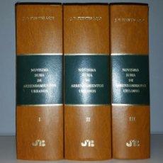 Libros de segunda mano: NOVISIMA SUMA DE ARRENDAMIENTOS URBANOS. FUENTES LOJO, J. V. - 3 TOMOS - (4129 PÁGINAS). Lote 55997596