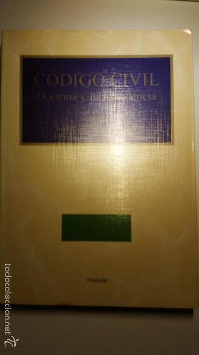 Libros de segunda mano: Código civil. 14 Tomos. Doctrina y jurisprudencia. ALBÁCAR LÓPEZ, J.L. 8 volúmenes + 6 actualiz. - Foto 4 - 55993032