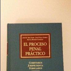 Libros de segunda mano: EL PROCESO PENAL PRÁCTICO (5ª EDICIÓN). COMENTARIOS, JURISPRUDENCIA, FORMULARIOS - J.Mª RIFÁ SOLER. Lote 55998659