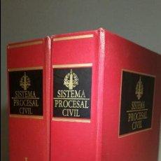 Libros de segunda mano: SISTEMA PROCESAL CIVIL - EDITORIAL: LA LEY. Lote 56031742