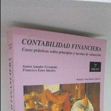 Libros de segunda mano: CONTABILIDAD FINANCIERA . Lote 56251376