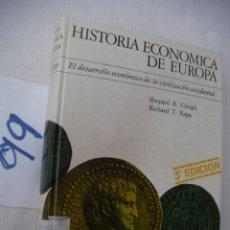 Libros de segunda mano: HISTORIA ECONOMICA DE EUROPA - CLOUGH Y RAPP. Lote 56921781