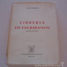 Libros de segunda mano: JOSÉ FEBRERO. LIBRERÍA DE ESCRIBANOS. TOMO SEGUNDO. LIBRO TERCERO. (EDICIÓN FACSÍMIL). RM74777. . Lote 57053554