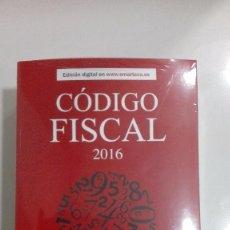 Libros de segunda mano: CODIGO FISCAL 2016. Lote 57241606