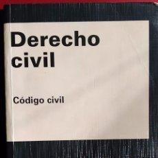 Libros de segunda mano: DERECHO CIVIL - CÓDIGO CIVIL. Lote 57282727