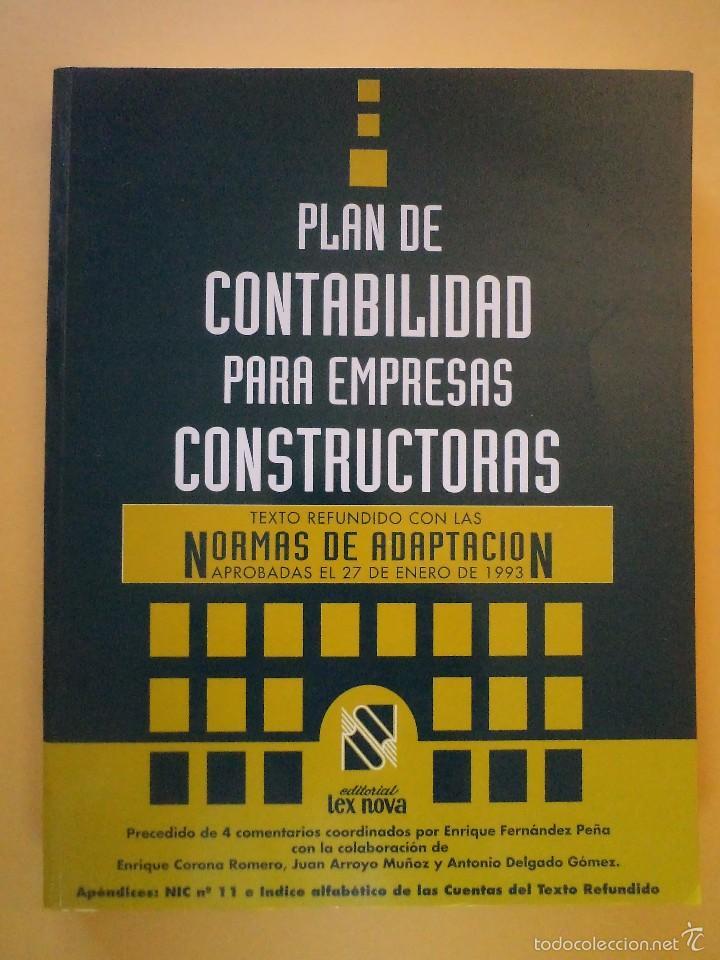 Plan de contabilidad para empresas constructora comprar - Constructoras en valladolid ...