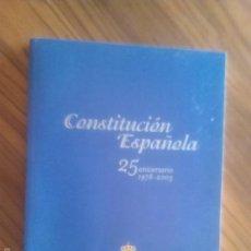Libros de segunda mano: CONSTITUCIÓN ESPAÑOLA 25 ANIVERSARIO. SENADO. BUEN ESETADO. RARO. Lote 57937552