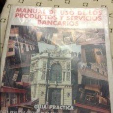 Libros de segunda mano: MANUAL DE USO DE LOS PRODUCTOS Y SERVICIOS BANCARIOS. VERITAS ESTUDIOS FINANCIEROS. Lote 58588215
