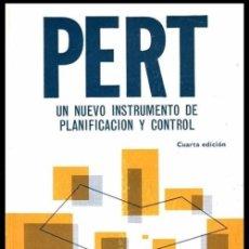 Libros de segunda mano: PERT UN NUEVO INSTRUMENTO DE PLANIFICACION Y CONTROL. DIRECCION. EMPRESA.. Lote 59138890