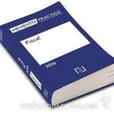 Libros de segunda mano: MEMENTO PRÁCTICO FRANCIS LEFEBVRE,FISCAL 2016. Lote 59501567