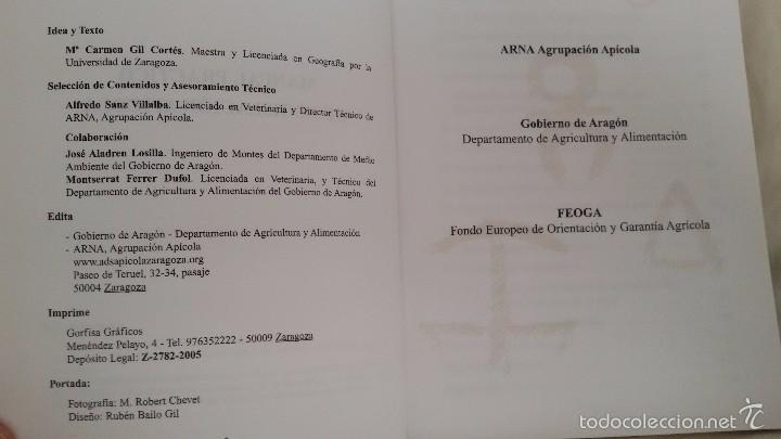 Libros de segunda mano: MANUAL PRACTICO DE LEGISLACIÓN APÍCOLA. GOBIERNO DE ARAGON. GASTOS ENVIO 6 EUROS - Foto 2 - 59634915