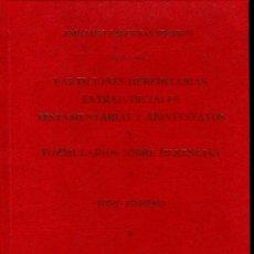 Libros de segunda mano: PARTICIONES HEREDITARIAS EXTRAJUDICIALES 2 VOLS. (E. BARCENAS 1978) EN EMBALAJE ORIGINAL. Lote 60074187