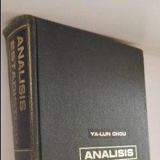 Libri di seconda mano: ANALISIS ESTADISTICO. Lote 60532339
