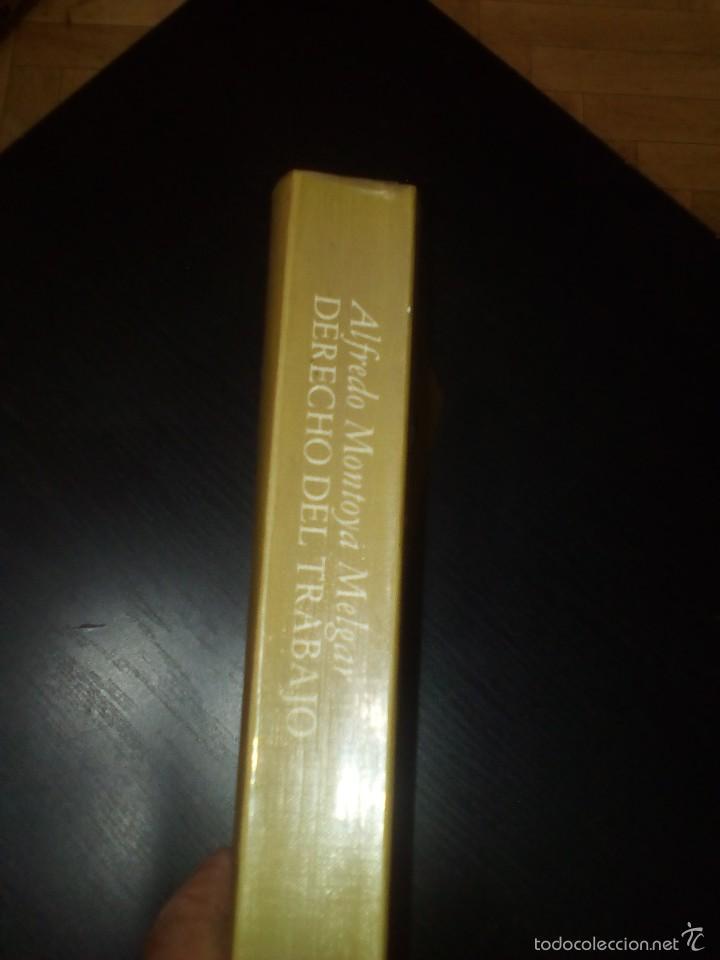 Libros de segunda mano: DERECHO DEL TRABAJO, Alfredo Montoya Melgar - Foto 2 - 60684795