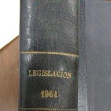 Libros de segunda mano: LEGISLACIÒN 1964. Lote 61504559