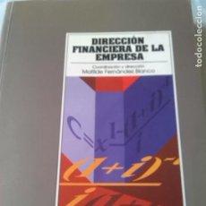 Libros de segunda mano: DIRECCION FINANCIERA DE LA EMPRESA. Lote 61916884