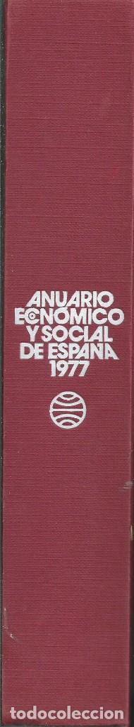 Libros de segunda mano: RAMON TAMAMES ET ALII. ANUARIO ECONOMICO Y SOCIAL DE ESPAÑA 1977.PLANETA 1ª EDICION BARCELONA 1977 - Foto 4 - 62083004