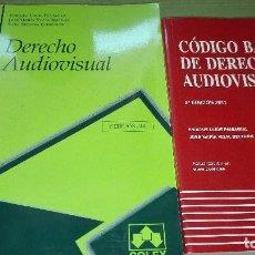 Libros de segunda mano: LIBRO DE DERECHO AUDIOVISUAL REGALO EL CÓDIGO BÁSICO DE DERECHO AUDIOVISUAL INCLUYECD. Lote 129694631