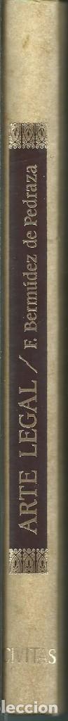 Libros de segunda mano: FACSIMIL ARTE LEGAL PARA ESTUDIAR LA JURISPRUDENCIA. FCO.BERMUDEZ DE PEDRADA. SALAMANCA 1612 - Foto 3 - 63356608
