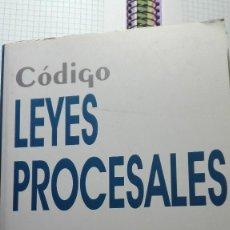 Libros de segunda mano: CODIGO DE LEYES PROCESALE 2010 EN PERFECTAS CONDICIONES. Lote 63428968