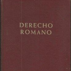 Libros de segunda mano: DERECHO ROMANO. JUÁN IGLESIAS. 1972. SEXTA EDICIÓN REVISADA Y AUMENTADA. EDICIONES ARIAL. UN CLASICO. Lote 64053839